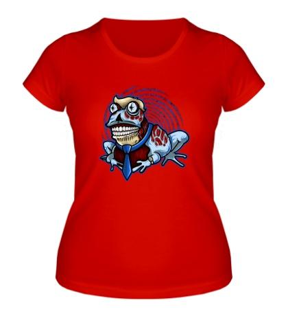 Женская футболка Гипножаба