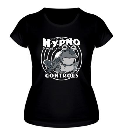 Женская футболка Hypno Controls