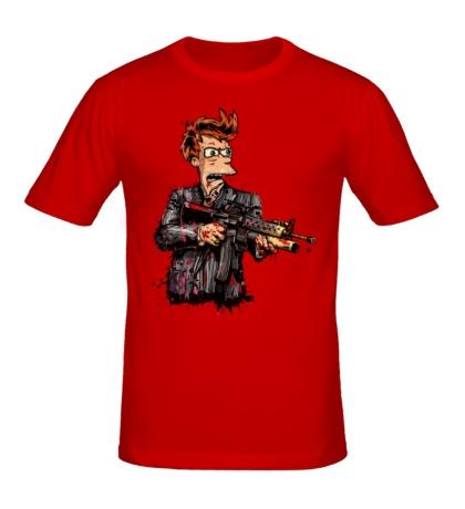 Мужская футболка «Фрай-террорист»