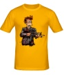 Мужская футболка «Фрай-террорист» - Фото 1