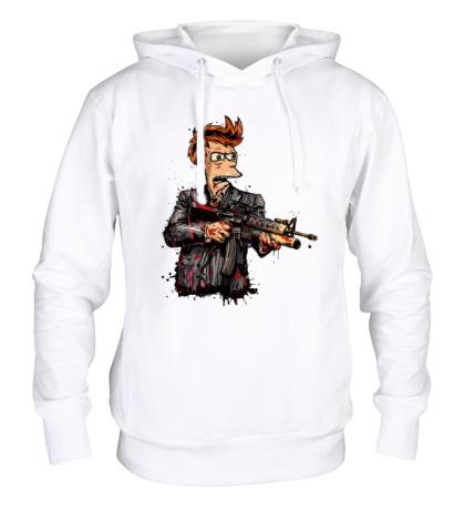 Толстовка с капюшоном Фрай-террорист