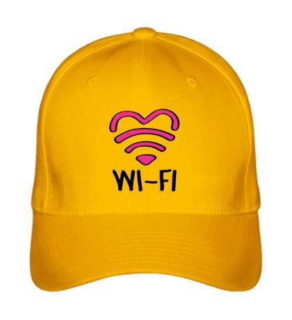 Бейсболка WiFi heart