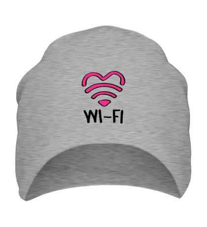 Шапка WiFi heart