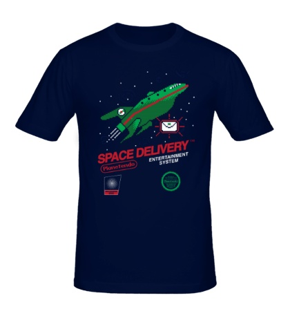 Мужская футболка Space Delivery