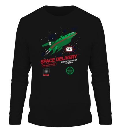 Мужской лонгслив Space Delivery