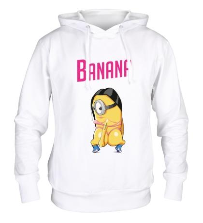 Толстовка с капюшоном Banana Minion