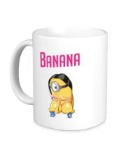 Керамическая кружка Banana Minion