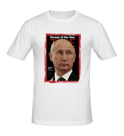 Мужская футболка Путин Человек Года