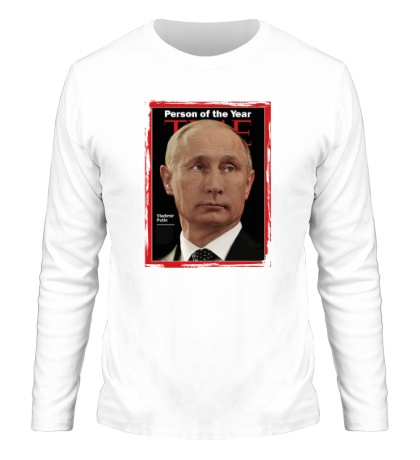 Мужской лонгслив Путин Человек Года