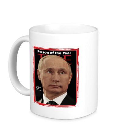 Керамическая кружка Путин Человек Года