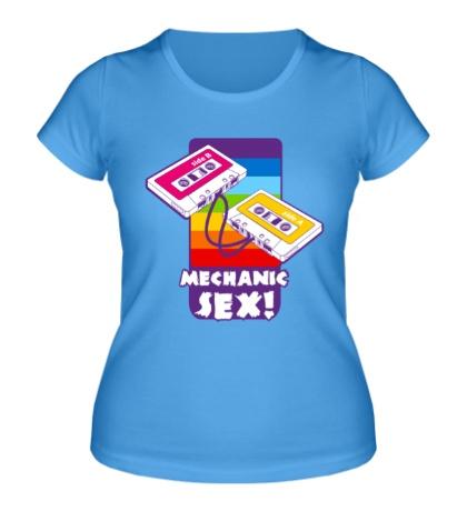 Женская футболка Mechanic sex