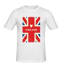 Мужская футболка Love England