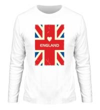 Мужской лонгслив Love England