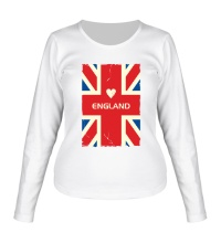 Женский лонгслив Love England