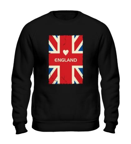 Свитшот Love England