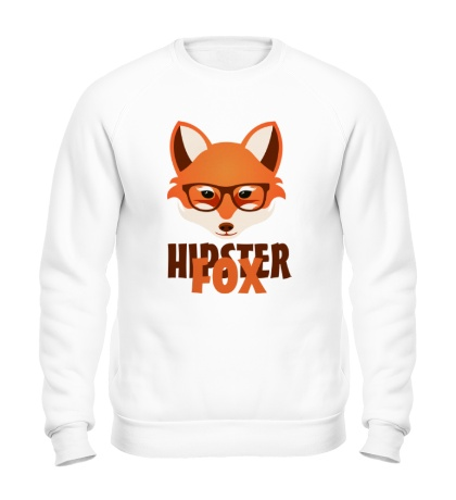 Свитшот Hipster fox