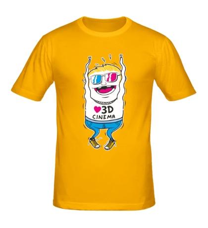 Мужская футболка 3D Cinema