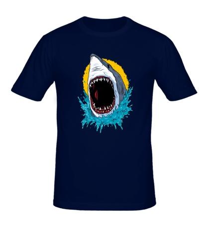Мужская футболка Дикая акула