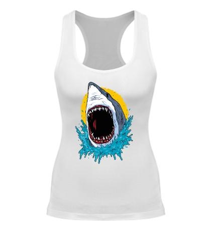 Женская борцовка Дикая акула