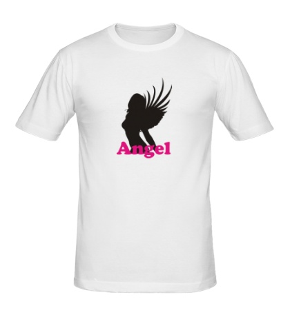 Мужская футболка Девушка Ангел
