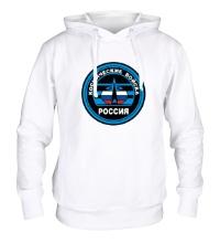 Толстовка с капюшоном Космические войска России