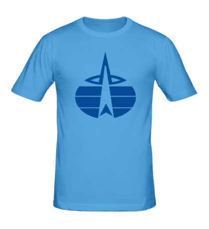 Мужская футболка Символ ВКС России