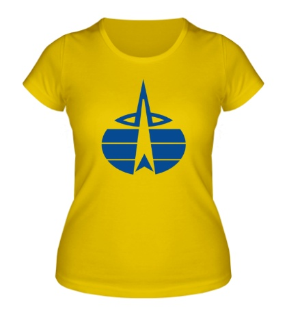 Женская футболка Символ ВКС России