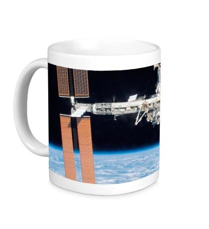 Керамическая кружка Международная космическая станция