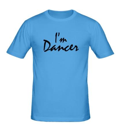 Мужская футболка Im dancer