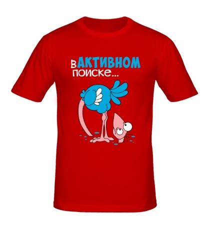 Мужская футболка В активном поиске...