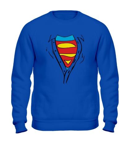 Свитшот Застенчивый Супермен