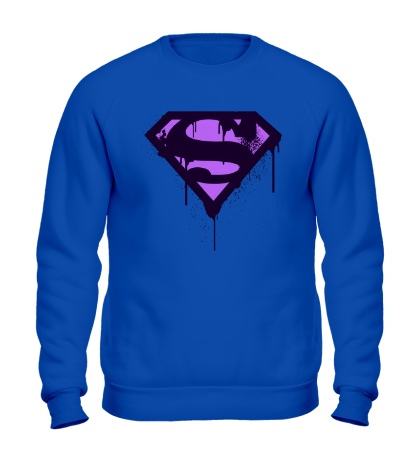 Свитшот Superman Purple