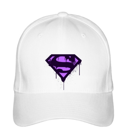 Бейсболка Superman Purple