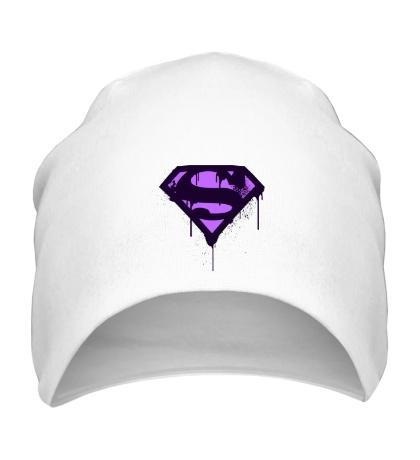 Шапка Superman Purple