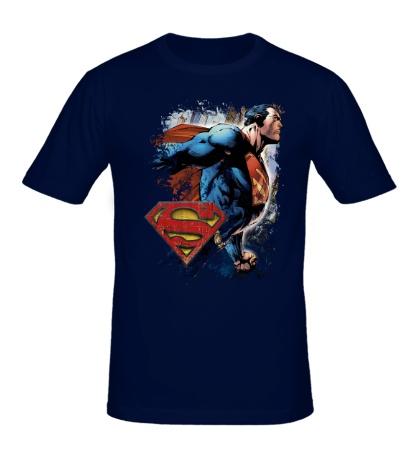 Мужская футболка Superman Comics