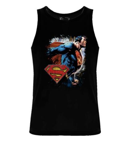Мужская майка Superman Comics