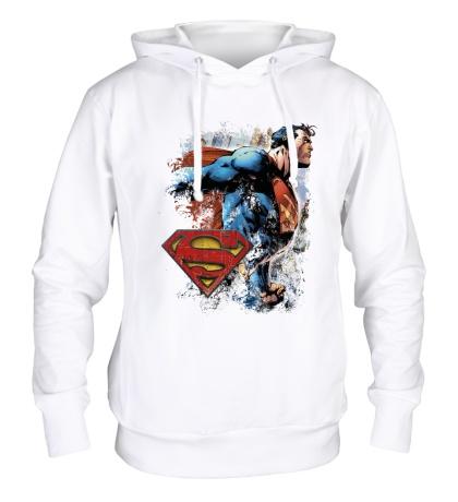Толстовка с капюшоном Superman Comics