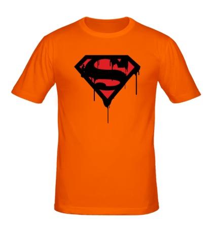 Мужская футболка Blood Superman