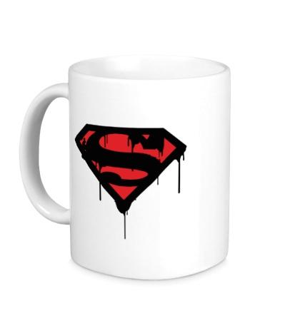 Керамическая кружка Blood Superman