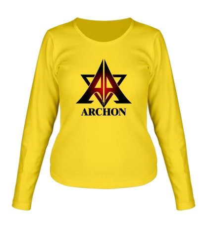 Женский лонгслив Archon Team