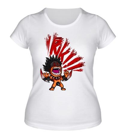 Женская футболка Bloodseeker Rage