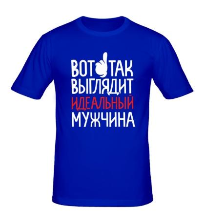 Мужская футболка Идеальный мужчина c59b6525736ec