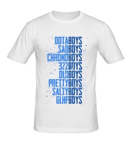 Мужская футболка The Dota Boys