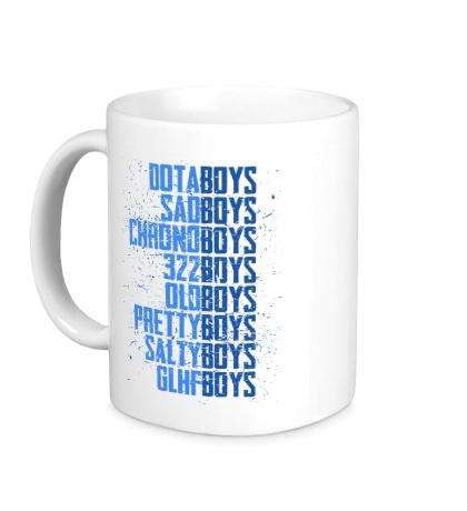 Керамическая кружка The Dota Boys