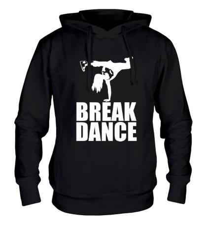Толстовка с капюшоном Break dance girl