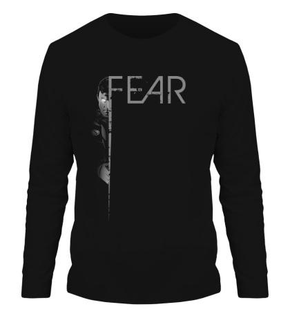Мужской лонгслив Face The Fear