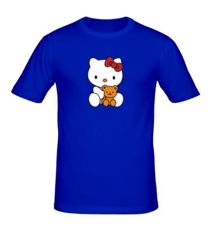 Мужская футболка Китти и Тедди