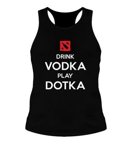 Мужская борцовка Drink Vodka, Play Dotka