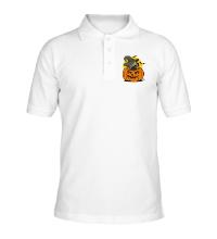 Рубашка поло Бульдог в тыкве