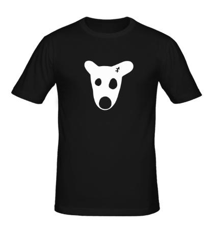 Мужская футболка Собака Дурова